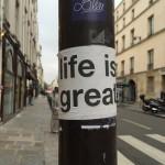 Parisian sticker